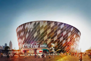 Seven Media - Coca Cola Arena - a powerful integrated PR and social media launch campaign